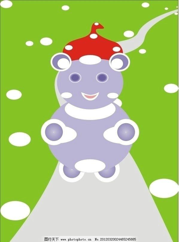 可爱的小熊 小熊 野生动物