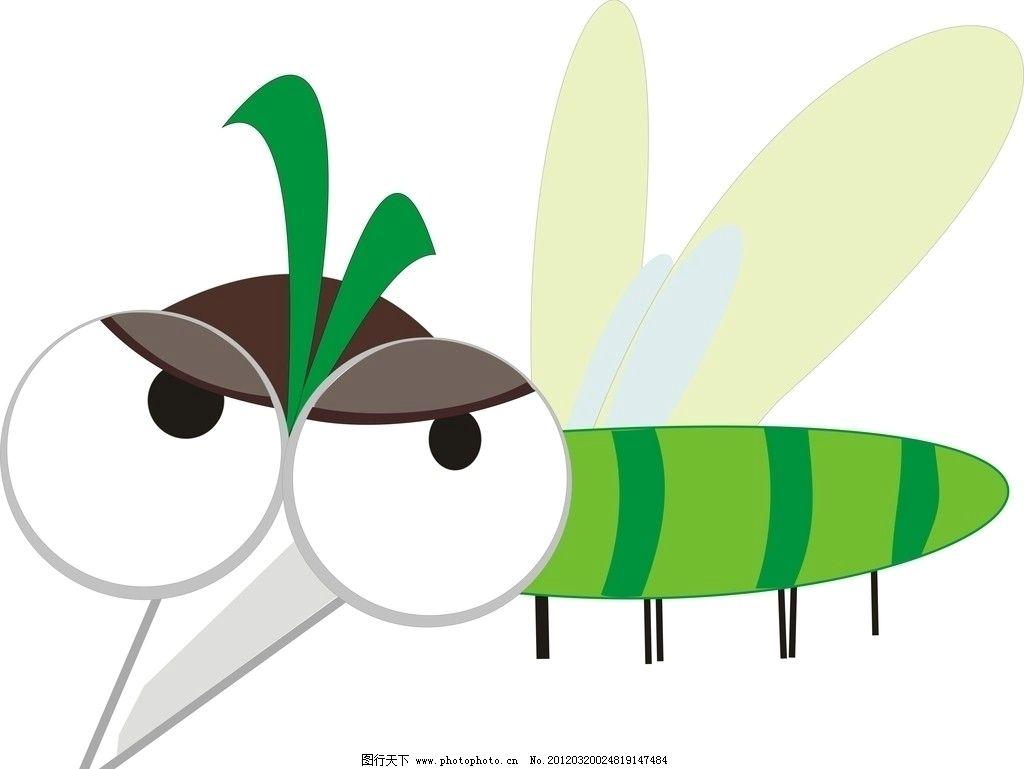 qq牧场蚊子 qq牧场蚊子矢量图 昆虫 生物世界 矢量 cdr