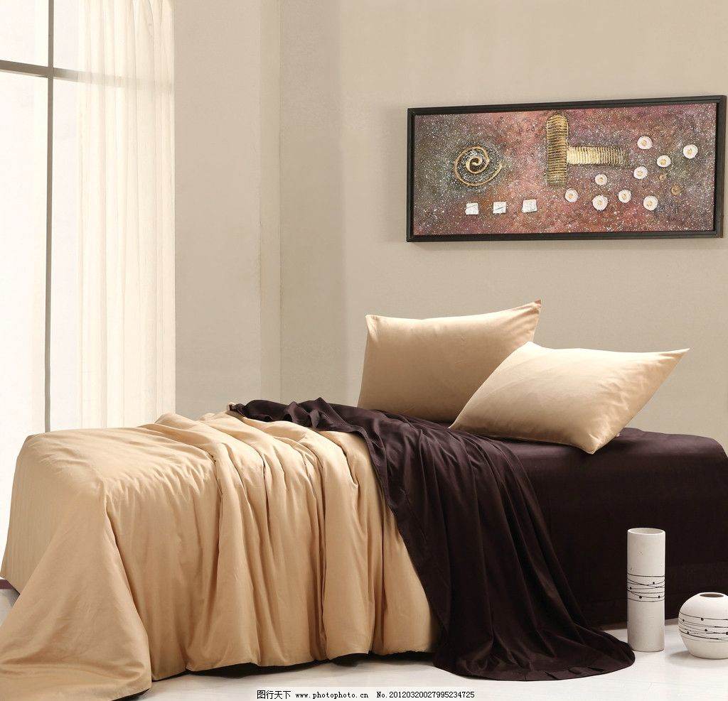 欧式蚊帐床满装修效果图