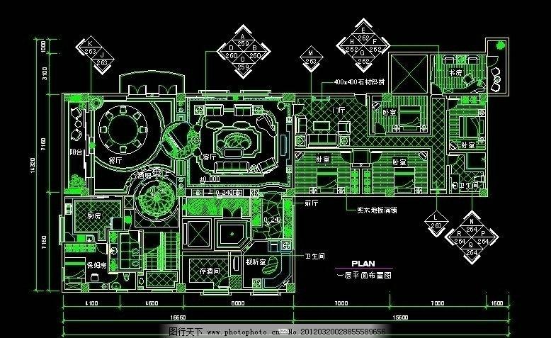 欧式别墅平面设计图图片