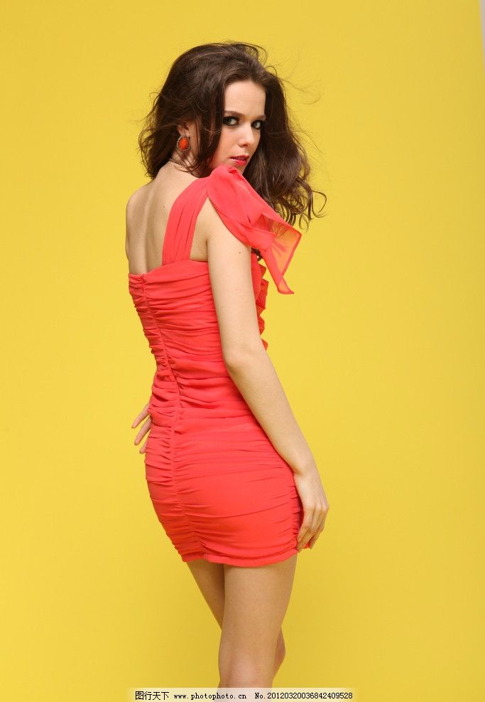 服装平面模特图片