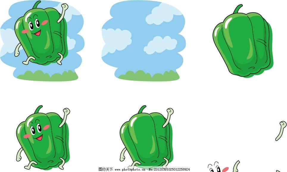 彩铅青椒的画法步骤