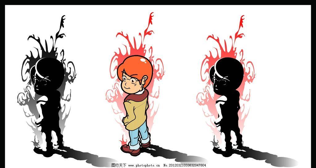 q版卡通人物造型设计图片