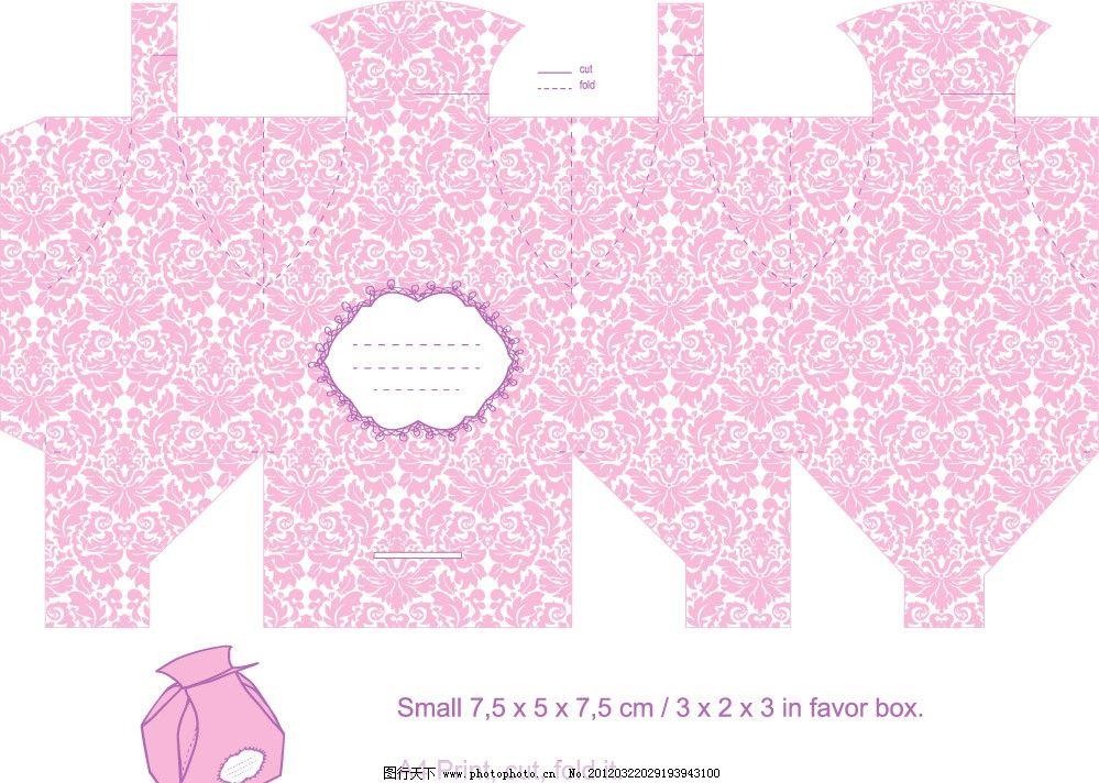 欧式花纹 包装设计 古典 盒子 时尚 矢量 广告设计
