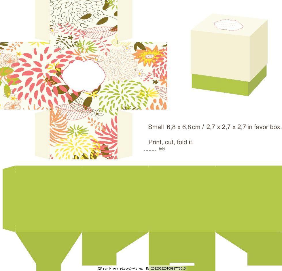 欧式花纹花朵 包装设计图片