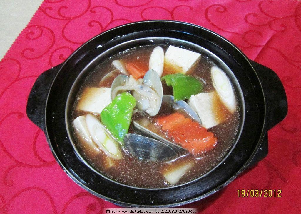 韩式大酱汤 大酱汤 汤 韩式料理 传统美食 餐饮美食 摄影 180dpi jpg图片