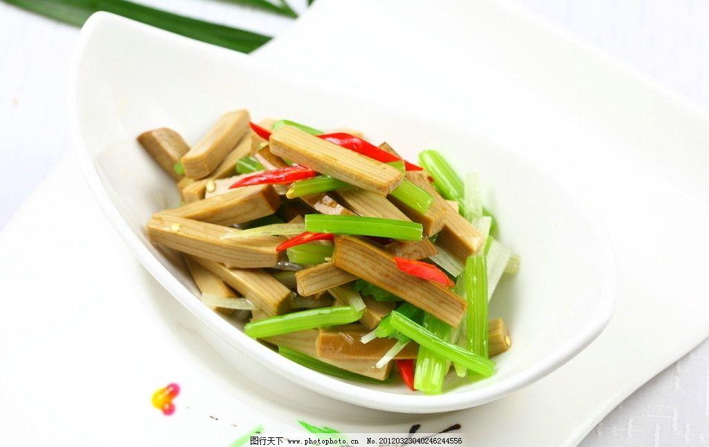 香芹拌素鸡图片,芹菜 凉菜 点心 特色菜 地方菜