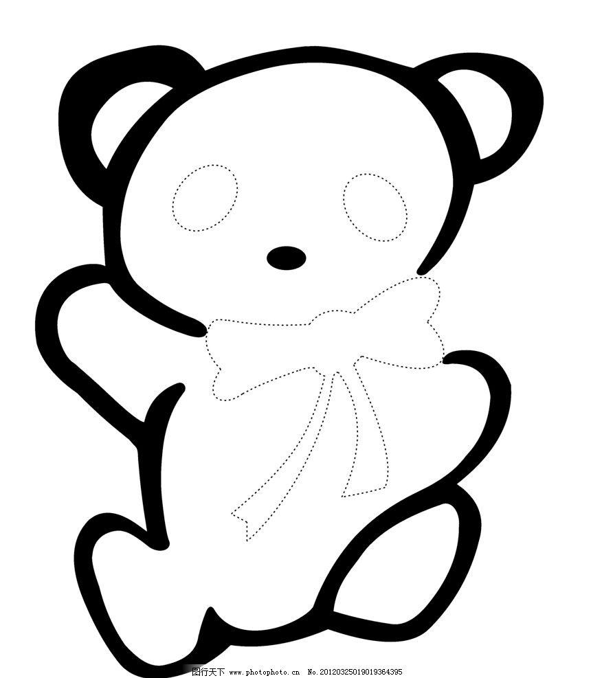 小熊图片_绘画书法_文化艺术