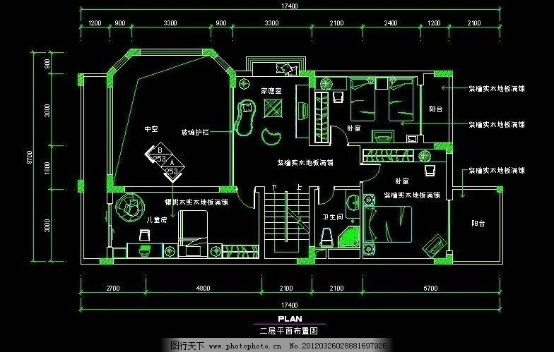 中式别墅平面布置图 设计图 设计师 装修 家装 大户型 源文件