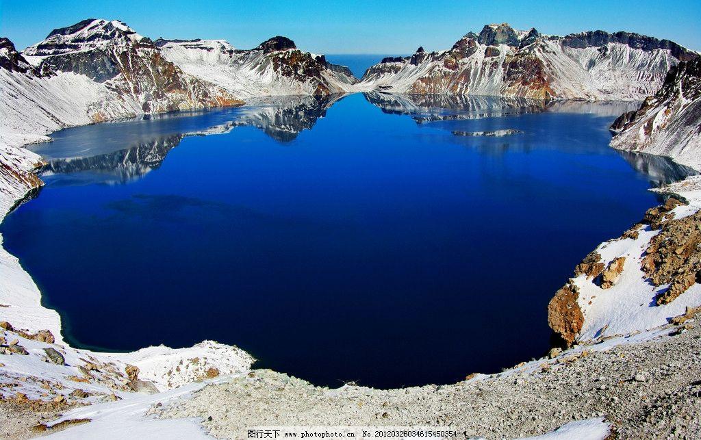 长白山天池 吉林 长白山 天池 雪景 东北 风景名胜 自然景观 摄影 72