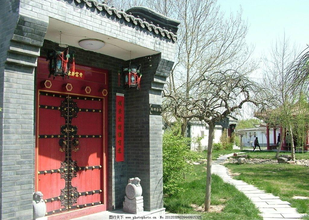 仿古建筑 门面 门楼 门口 古建筑 民居 四合院 城市建设 建筑摄影