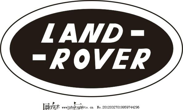 车牌 路虎 cdr 汽车 企业标志 logo 标识 标志 图标 矢量 cdr x8 企业