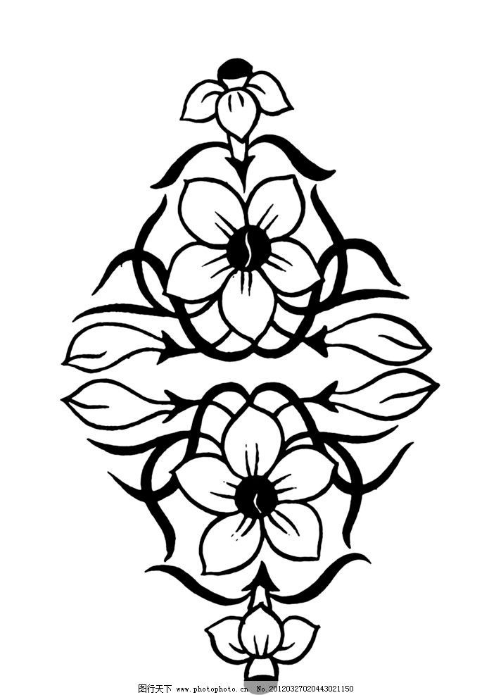 黑白花纹 纹路 装饰纹路 底纹 边框相框 底纹边框