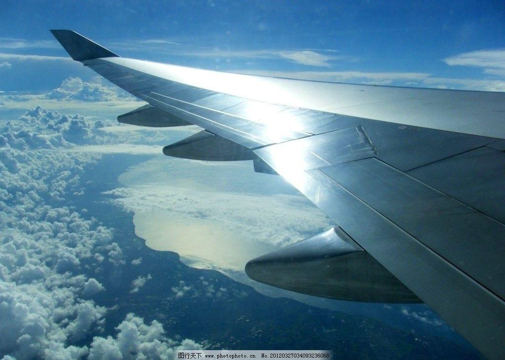 飞机上拍摄的巴厘岛图片