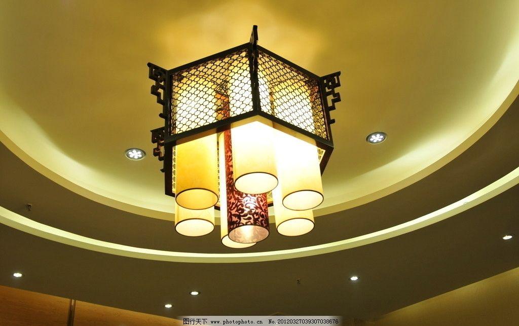 灯具 欧式吊灯 天花板 吊顶 华丽灯具 室内摄影 建筑园林