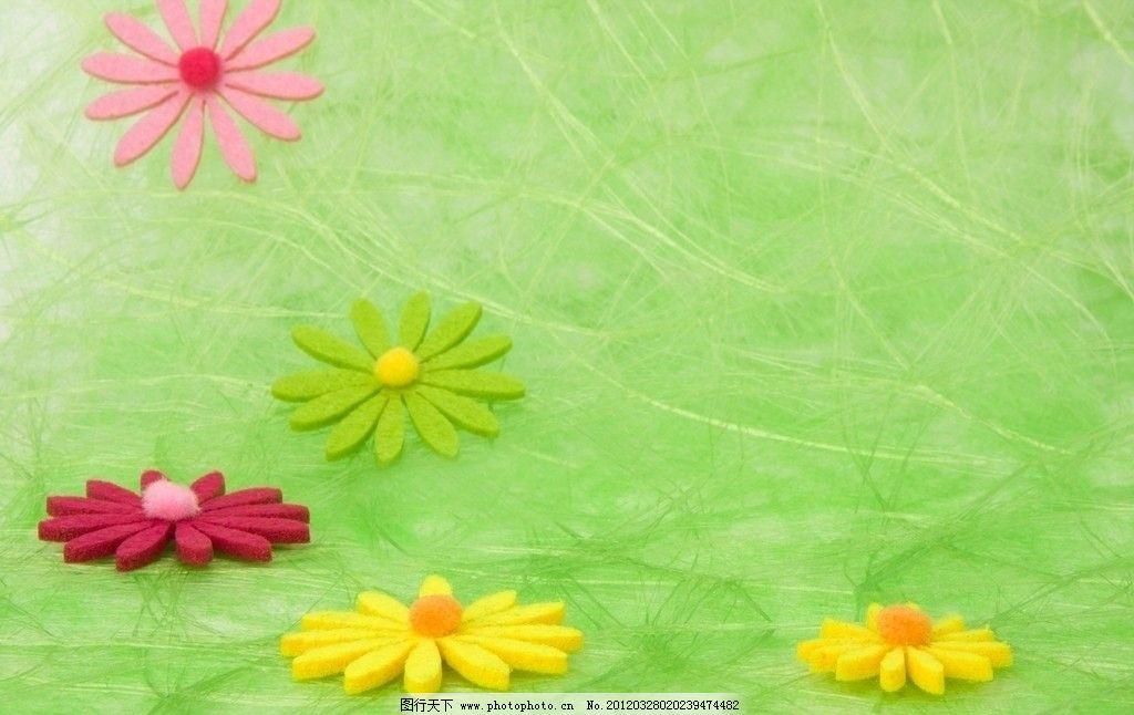 绿色背景 绿色 小花 背景 背景底纹 底纹边框 设计 72dpi jpg