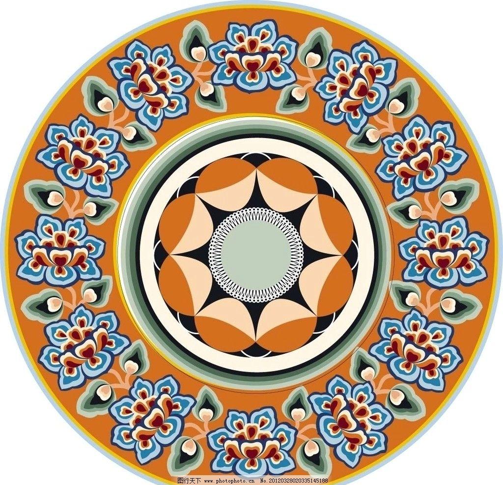 民族图案 古典 矢量 花纹 花纹花边 底纹边框