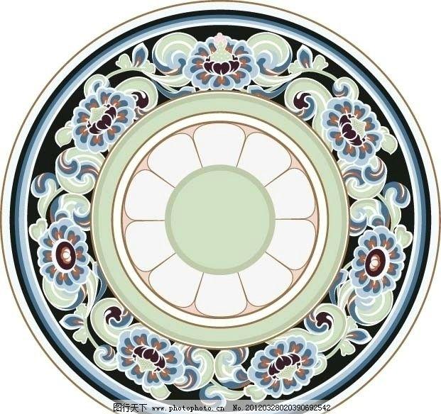 民族图案 民族 古典 图案 矢量 花纹 花纹花边 底纹边框 ai