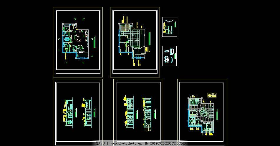 广告公司cad室内设计装修图 广告公司室内设计 广告公司平面图