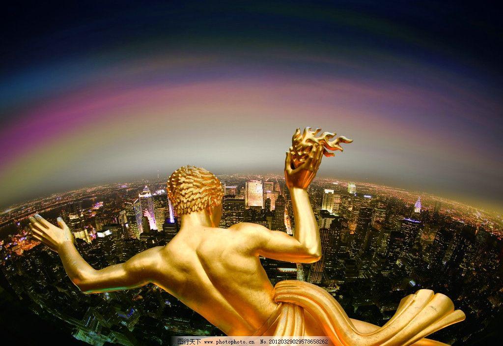 欧式雕塑 雕塑背影 人体雕塑