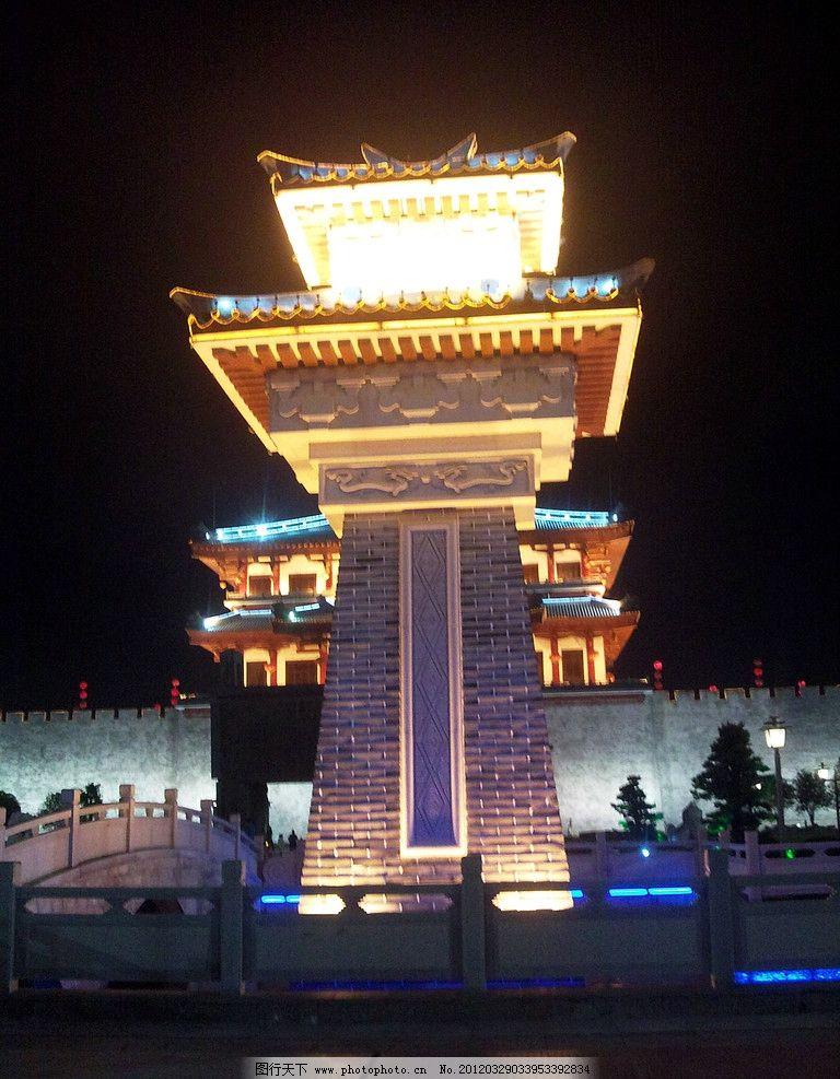 揭阳楼 揭阳景点 夜景 主楼 鼎 楼台 揭阳市揭阳楼 国内旅游 旅游摄影