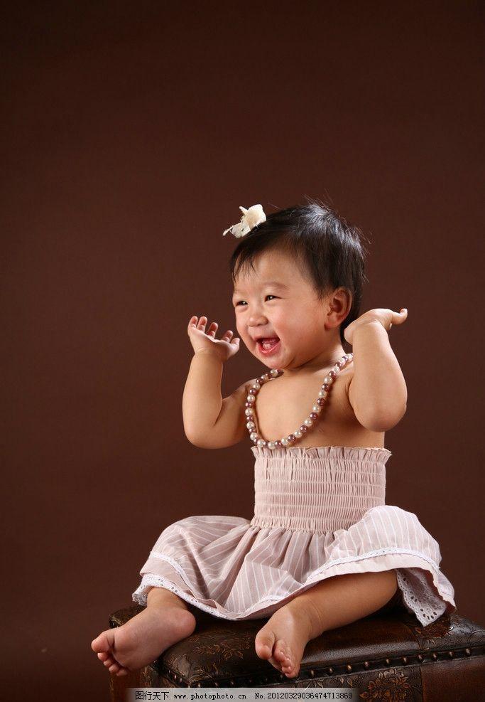 可爱宝贝1岁图片