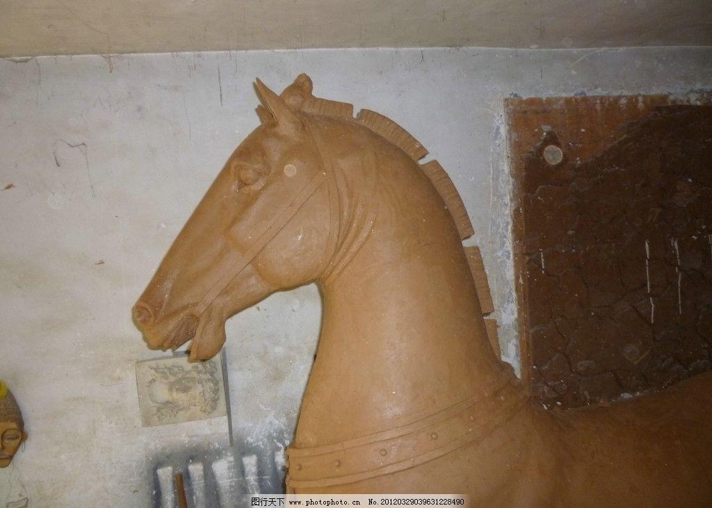 雕塑马头 雕像 雕刻 国外旅游 传统文化 文化艺术 摄影 雕塑马 动物