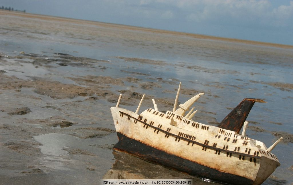 海边风光 海边 风景 风光 景色 景观 船只 游船 玩具 风光方面素材