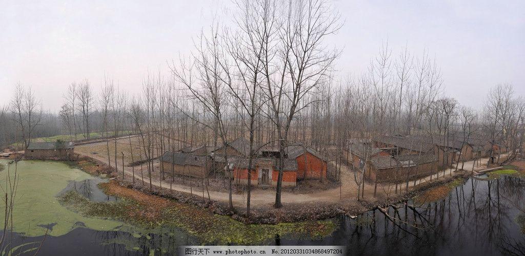 小村庄 秋天的小村庄 自然风景 自然景观 摄影 300dpi jpg