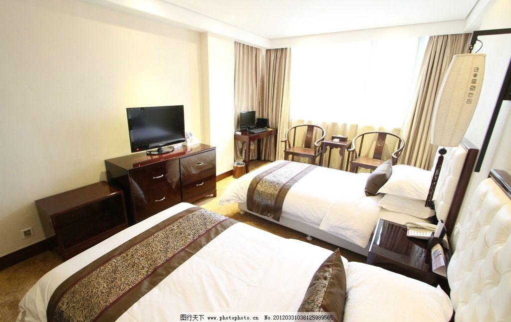 酒店标准间图片